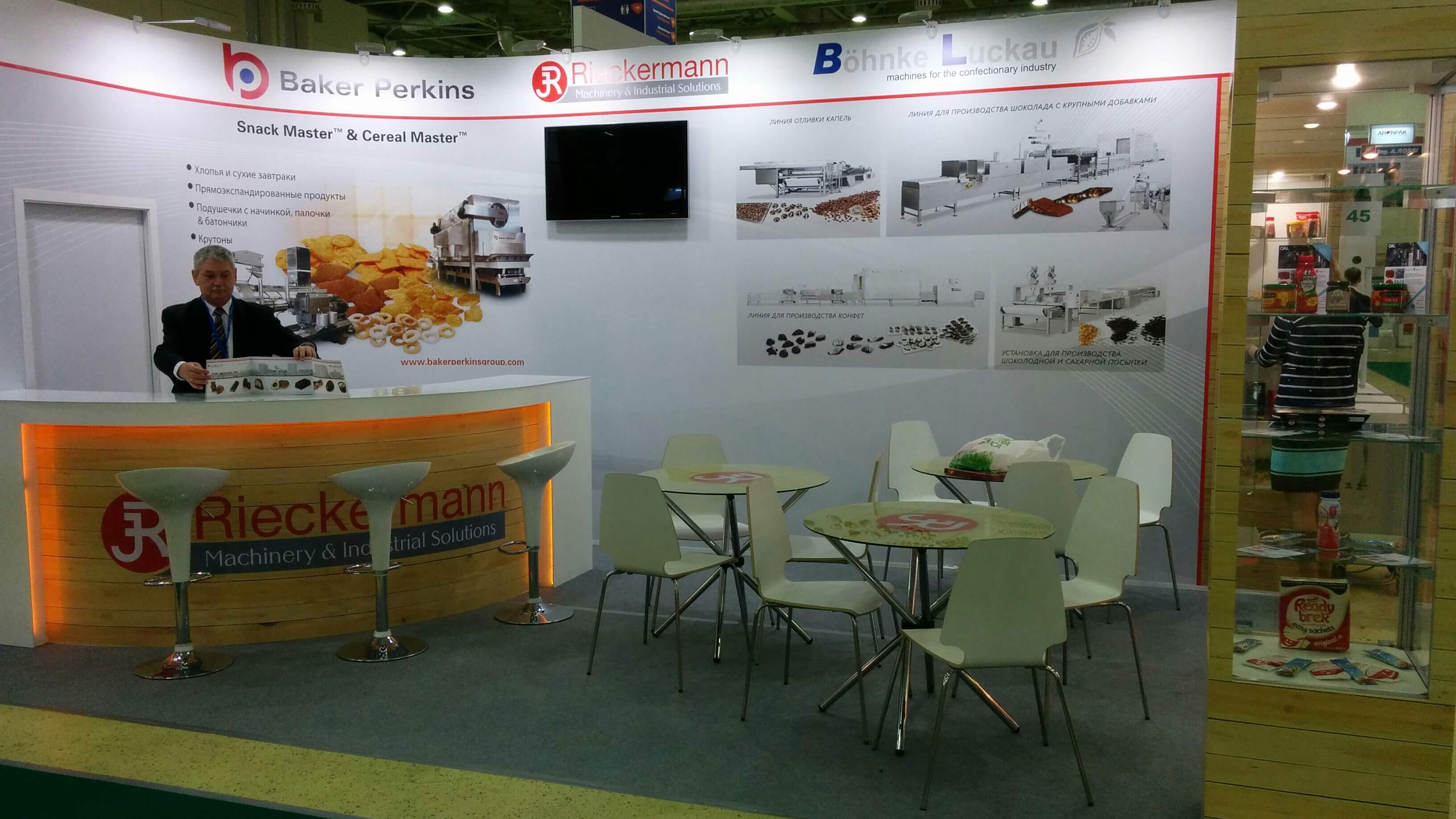 Böhnke & Luckau at the exhibition Agroprodmash Russia 2015
