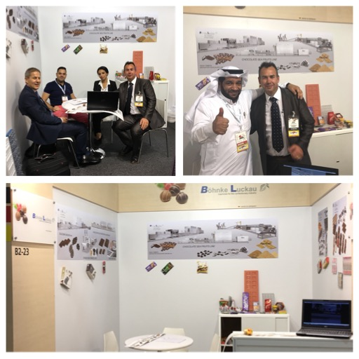 Böhnke & Luckau at the exhibition Dubai fair Gulfood Manufacturing 2017